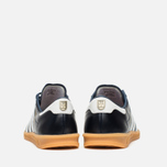 adidas Originals Hamburg Made In Germany Sneakers Collegiate Navy/White/Gold Metallic photo- 3