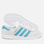 Кроссовки adidas Originals Hamburg Off White фото- 2