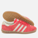 Кроссовки adidas Originals Hamburg Shock Red/Off White/Beige фото- 2