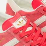 Кроссовки adidas Originals Hamburg Shock Red/Off White/Beige фото- 3