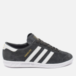 Кроссовки adidas Originals Hamburg Solid Grey/White/Gold фото- 0