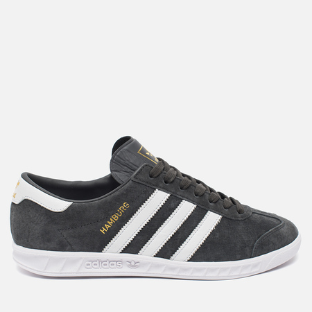 adidas Originals Hamburg Solid Sneakers Grey/White/Gold