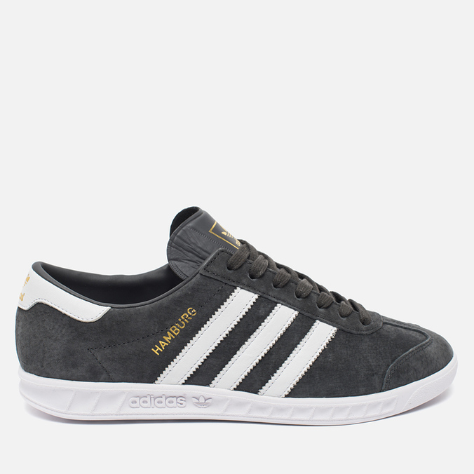 Кроссовки adidas Originals Hamburg Solid Grey/White/Gold