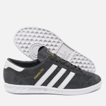 Кроссовки adidas Originals Hamburg Solid Grey/White/Gold фото- 2