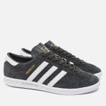 Кроссовки adidas Originals Hamburg Solid Grey/White/Gold фото- 1