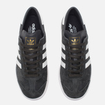 Кроссовки adidas Originals Hamburg Solid Grey/White/Gold фото- 4