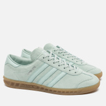 Кроссовки adidas Originals Hamburg Vapour Green/Ice Mint/Gum фото- 1