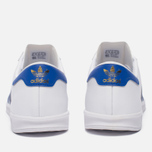Кроссовки adidas Originals Hamburg White/Bold Blue/Gold Metallic фото- 3