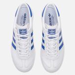 Кроссовки adidas Originals Hamburg White/Bold Blue/Gold Metallic фото- 4
