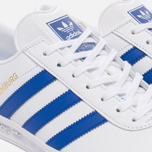 Кроссовки adidas Originals Hamburg White/Bold Blue/Gold Metallic фото- 5