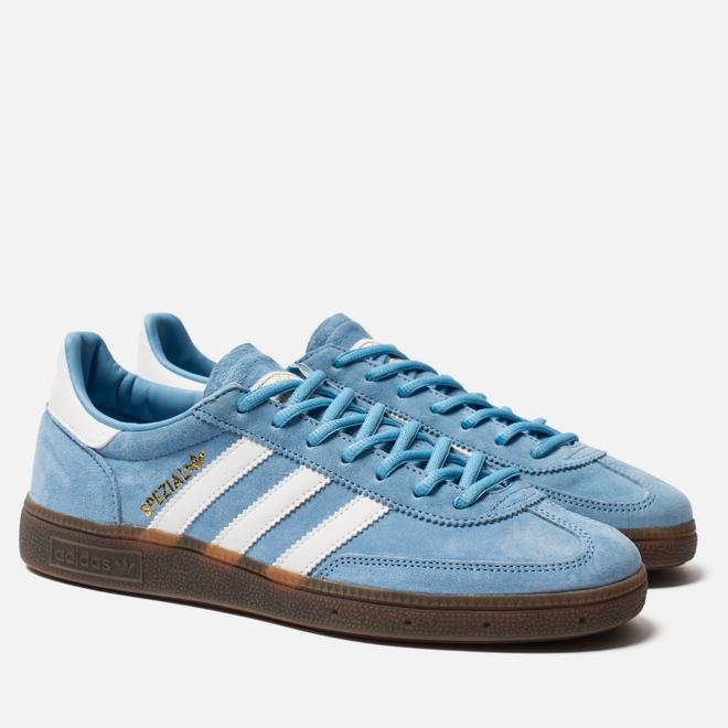 Кроссовки adidas Originals Handball Spezial Light Blue/White/Gum