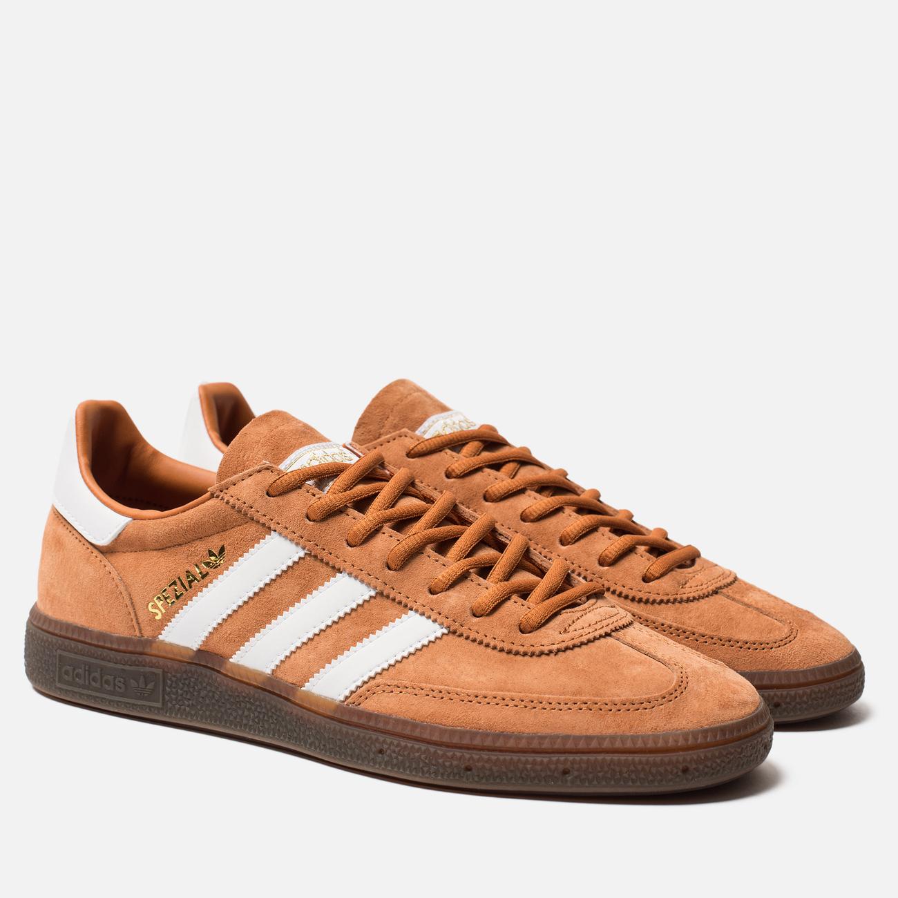 Кроссовки adidas Originals Handball Spezial Tech Copper/Cloud White/Gold Metallic