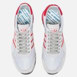 Мужские кроссовки adidas Originals Harwood Spezial Clear Grey/Ray Red/Off White фото- 4
