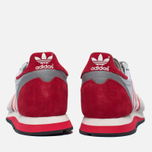Мужские кроссовки adidas Originals Harwood Spezial Clear Grey/Ray Red/Off White фото- 5