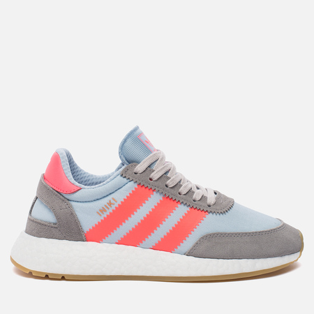 Кроссовки adidas Originals Iniki Runner Boost Charcoal Solid Grey/Turbo/Gum