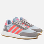 Кроссовки adidas Originals Iniki Runner Boost Charcoal Solid Grey/Turbo/Gum фото- 1