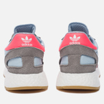Кроссовки adidas Originals Iniki Runner Boost Charcoal Solid Grey/Turbo/Gum фото- 3