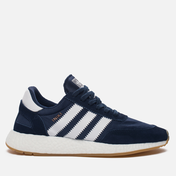 Кроссовки adidas Originals Iniki Runner Boost Collegiate Navy/Running White
