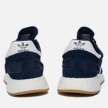 Кроссовки adidas Originals Iniki Runner Boost Collegiate Navy/White/Gum фото- 3