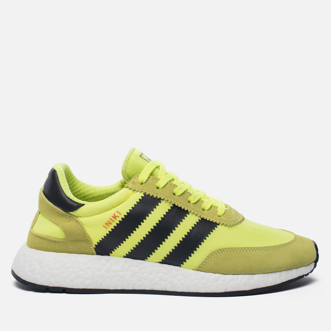 Кроссовки adidas Originals Iniki Runner Boost Solar Yellow/Core Black/White