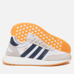 Кроссовки adidas Originals Iniki Runner Boost White/Collegiate Navy/Gum фото- 1