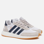 Кроссовки adidas Originals Iniki Runner Boost White/Collegiate Navy/Gum фото- 2