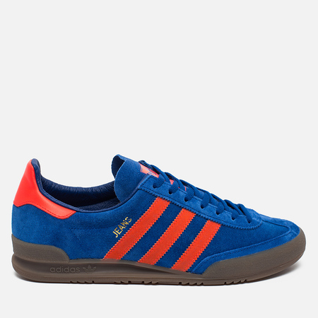 Кроссовки adidas Originals Jeans Trainers Royal Blue/Solar Red
