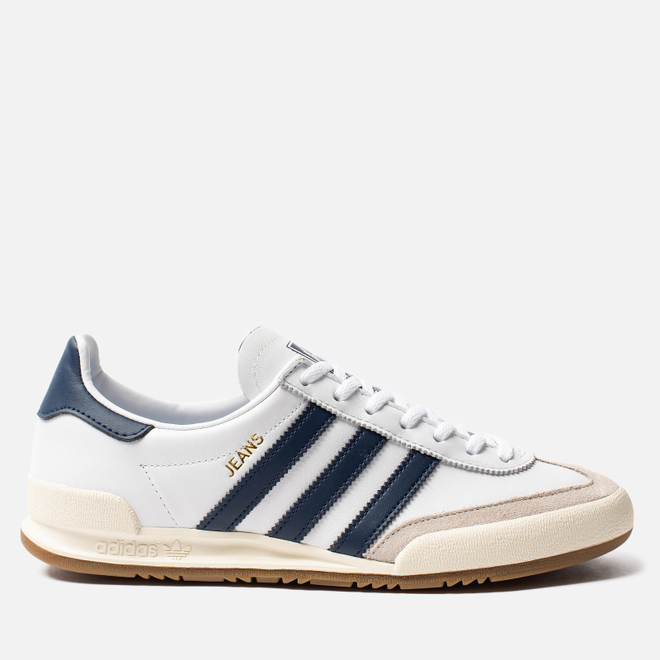 Кроссовки adidas Originals Jeans White/Collegiate Navy/Clear Brown