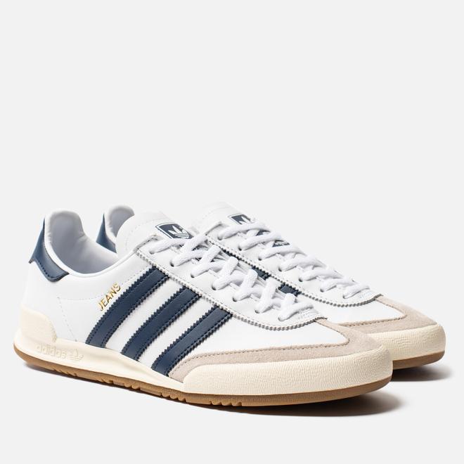 Кроссовки adidas Originals Jeans White/Collegiate Navy/Clear Brown