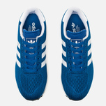 Кроссовки adidas Originals LA Trainer EM Blue/White фото- 4