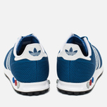 Кроссовки adidas Originals LA Trainer EM Blue/White фото- 3
