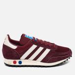 Кроссовки adidas Originals LA Trainer OG Burgundy/White/Black фото- 0