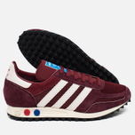Кроссовки adidas Originals LA Trainer OG Burgundy/White/Black фото- 2