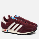 Кроссовки adidas Originals LA Trainer OG Burgundy/White/Black фото- 1