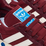 Кроссовки adidas Originals LA Trainer OG Burgundy/White/Black фото- 6