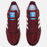 Кроссовки adidas Originals LA Trainer OG Burgundy/White/Black фото- 4