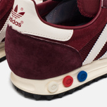 Кроссовки adidas Originals LA Trainer OG Burgundy/White/Black фото- 5