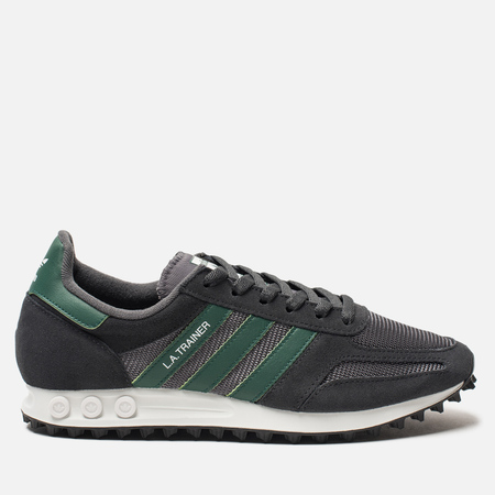 Кроссовки adidas Originals LA Trainer OG Carbon/Core Green/Grey Five
