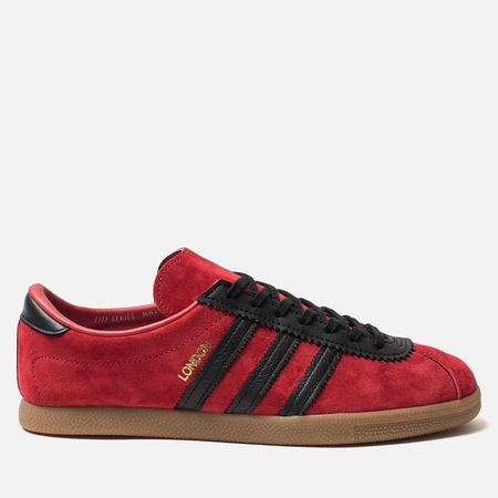 Кроссовки adidas Originals London Scarlet/Core Black/Gold Metall
