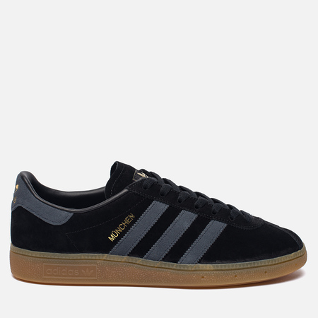 Кроссовки adidas Originals Munchen Core Black/Dark Grey/Gum