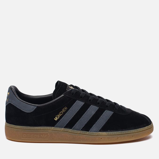 Кроссовки adidas Originals Munchen Core Black/Dark Grey/Gum