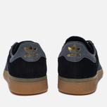 Кроссовки adidas Originals Munchen Core Black/Dark Grey/Gum фото- 3