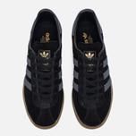 Кроссовки adidas Originals Munchen Core Black/Dark Grey/Gum фото- 4