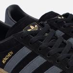 Кроссовки adidas Originals Munchen Core Black/Dark Grey/Gum фото- 5