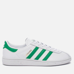 Кроссовки adidas Originals Munchen Core White/Green/Gold Metallic фото- 0