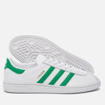 Кроссовки adidas Originals Munchen Core White/Green/Gold Metallic фото- 1