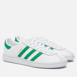 Кроссовки adidas Originals Munchen Core White/Green/Gold Metallic фото- 2