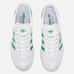 Кроссовки adidas Originals Munchen Core White/Green/Gold Metallic фото- 4