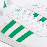 Кроссовки adidas Originals Munchen Core White/Green/Gold Metallic фото- 5
