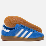 Кроссовки adidas Originals Munchen Future Blue/White/Gum фото- 2